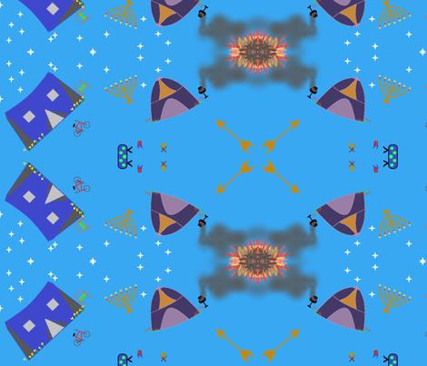 Feast of Tabernacles fabric by ahuva_israel on Spoonflower - custom fabric