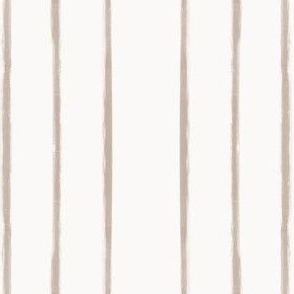 Skinny Strokes Gapped Vertical Nude on Off White