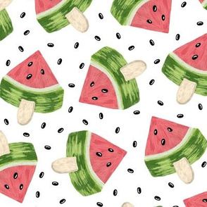 Watermelon like icecream