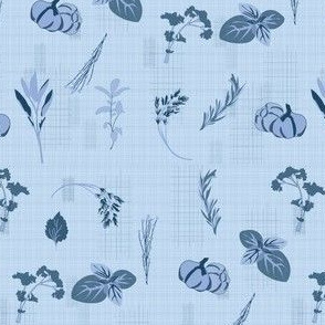 herb-dish-cloth-blue