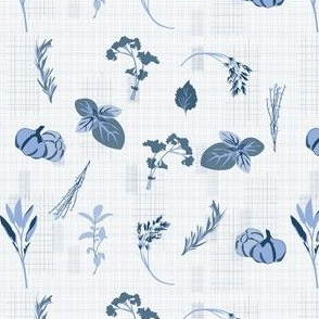 herb-dish-cloth-blue-and-white