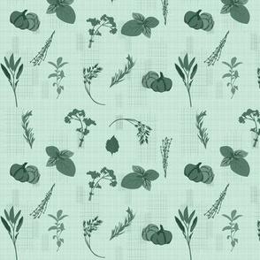 herb-dish-cloth-green