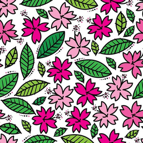 aloha pink hibiscus