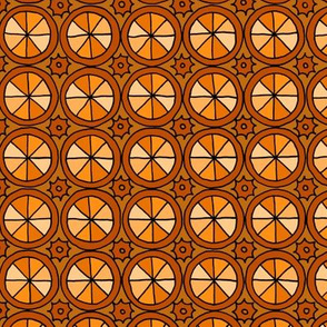 Spokes and Gears - Orange