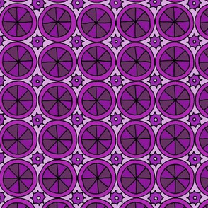 Spokes and Gears - Purple