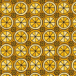 Spokes and Gears - Yellow