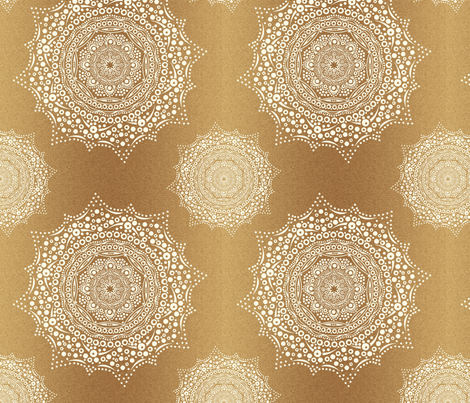 farmhouse mandala final fabric by quilts_by_a_dude on Spoonflower - custom fabric