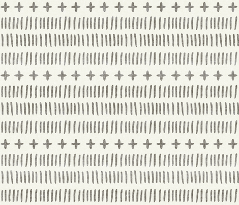 modern farmhouse dash (large scale) fabric by littlearrowdesign on Spoonflower - custom fabric