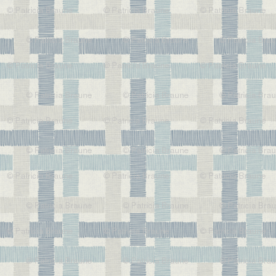 Country Linen Checks Blues