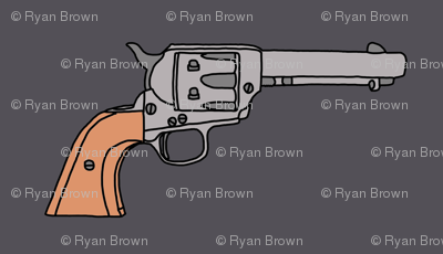 Revolvers on Charcoal // Small