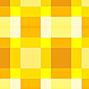 Yellow Block Plaid
