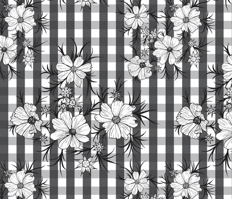 farm house floral fabric by flowie on Spoonflower - custom fabric