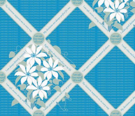 LATH-SIHO Silt Green / Hawaiian Ocean fabric by darrell_fleury on Spoonflower - custom fabric