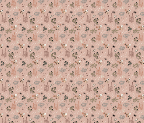 American Prairie (Small Scale) fabric by katelancaster on Spoonflower - custom fabric