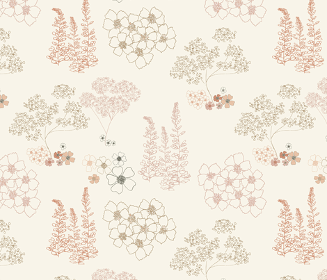 Prairie Dream  fabric by katelancaster on Spoonflower - custom fabric