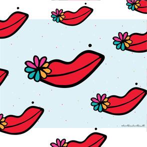 Flowery Lips