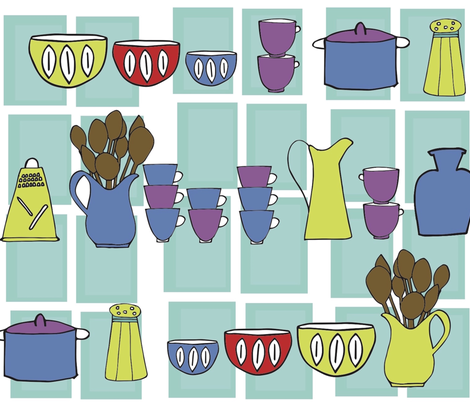 Pantry  fabric by rjswit on Spoonflower - custom fabric