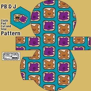 Cloth Pad PB&J