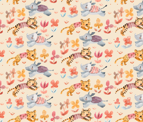 ENDANGERED fabric by gomboc on Spoonflower - custom fabric
