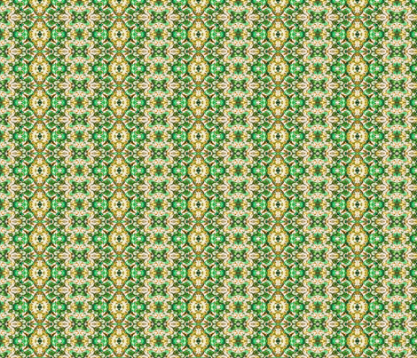 Paisley in Green & Gold fabric by just_meewowy_design on Spoonflower - custom fabric