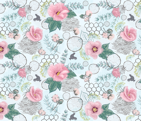 Ode to Modern Farmhouse  fabric by helenpdesigns on Spoonflower - custom fabric