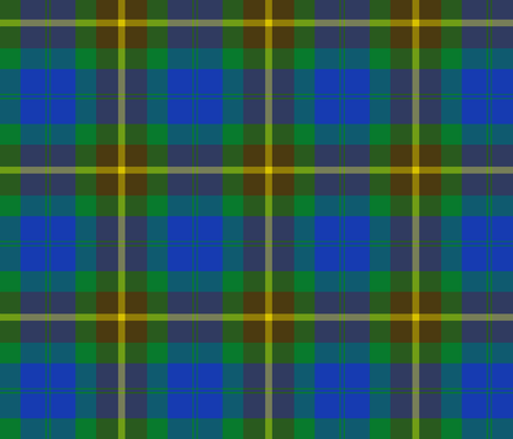 "Campbell brown tartan, 6"" fabric by weavingmajor on Spoonflower - custom fabric"