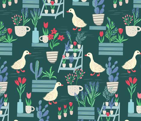 Modern Farmhouse Yard fabric by jill_o_connor on Spoonflower - custom fabric