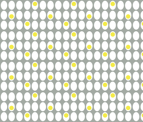 eggs-cellent fabric by dempsey on Spoonflower - custom fabric
