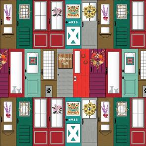 Modern Farmhouse doors smaller