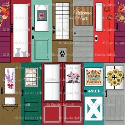 Modern Farmhouse Front Doors