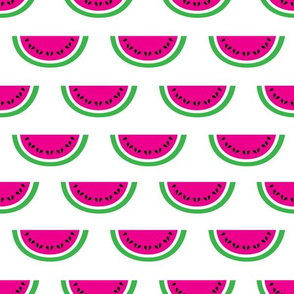 aloha watermelon hot pink half drop