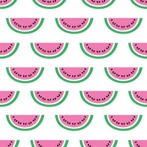 aloha watermelon light pink half drop