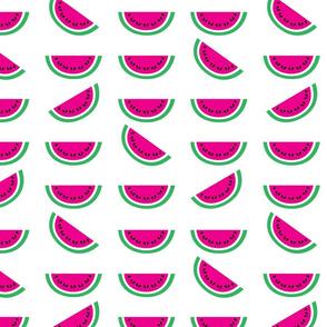 aloha watermelon slice hot pink