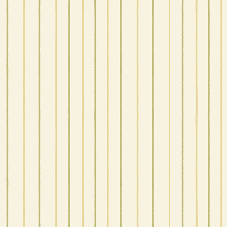 Green Stripes fabric by lillelor on Spoonflower - custom fabric