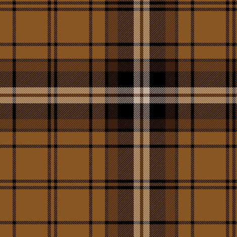"Campbell of Braemar or Campbell camel tartan, 6"" fabric by weavingmajor on Spoonflower - custom fabric"