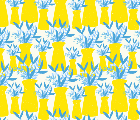 Summer Sunshine fabric by lusilockit on Spoonflower - custom fabric