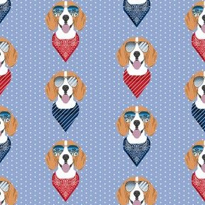 beagle sunglasses summer dog breed pet fabric purple