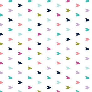multi hearts || good cheer colorway (90) C18BS