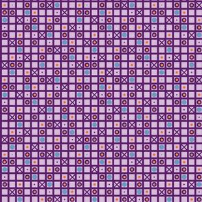 Purple tic tac circles