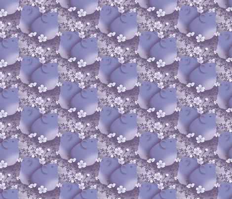 Song of the Pika fabric by siya on Spoonflower - custom fabric