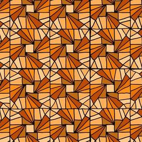 Whirlysquare - Orange