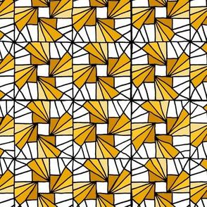 Whirlysquare - Yellow
