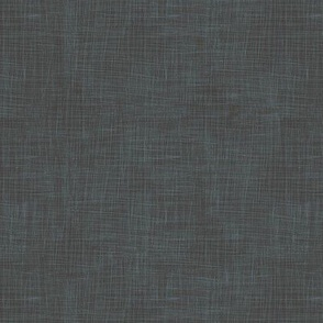Modern Farmhouse Linen - onyx-blue