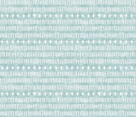 modern farmhouse dash (med scale) dusty blue fabric by littlearrowdesign on Spoonflower - custom fabric