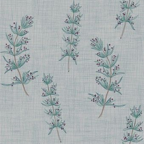 Rosemary Linen (grey-stone blue)
