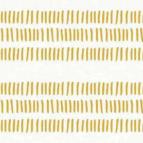 modern farmhouse dash (med scale) gold stripes