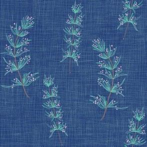 Rosemary Linen (honorable blue)