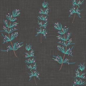 Rosemary Linen (onyx)
