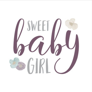 18 Inch Sweet Baby Girl - WITH GUIDES