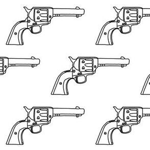 Revolver Sketch // Large
